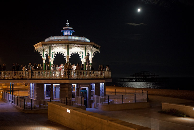 Dancing by moonlight, Brighton beach (The Guardian)